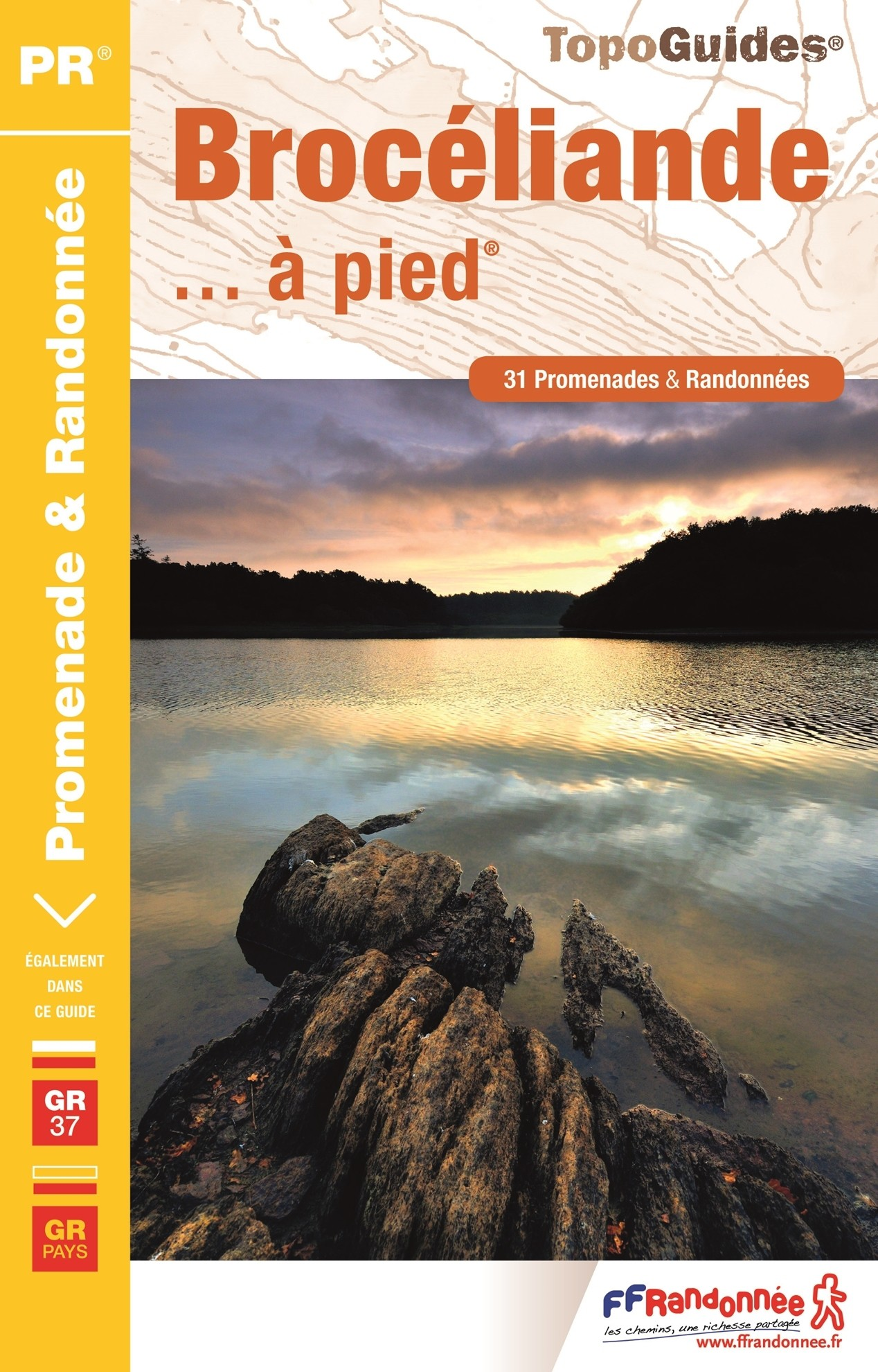 FFR BROCELIANDE A PIED (P353) - Recto