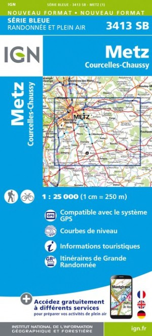 3413SB Recto - Metz - Courcelles-Chaussy