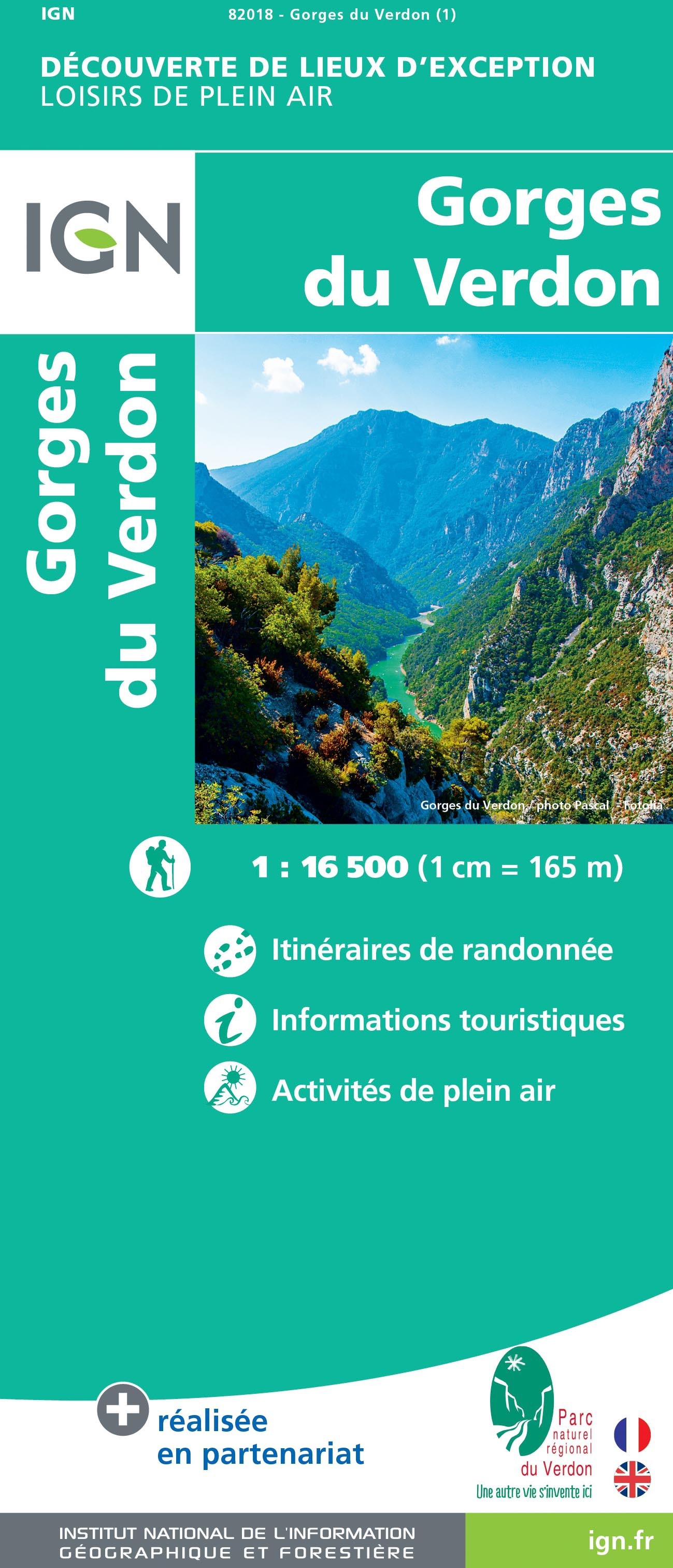 GORGES DU VERDON (Carte)