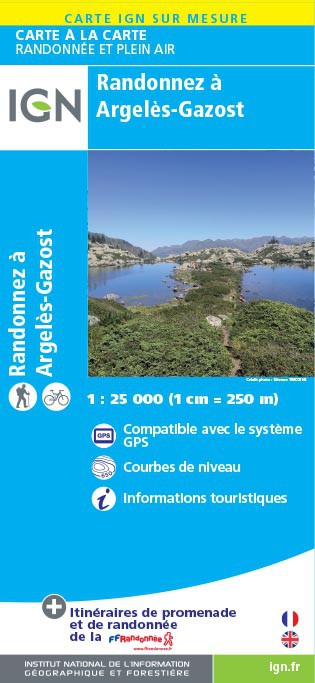 CARTE IGN 25000 SUR MESURE (REVENTE OU EVENEMENTIEL) - Couverture