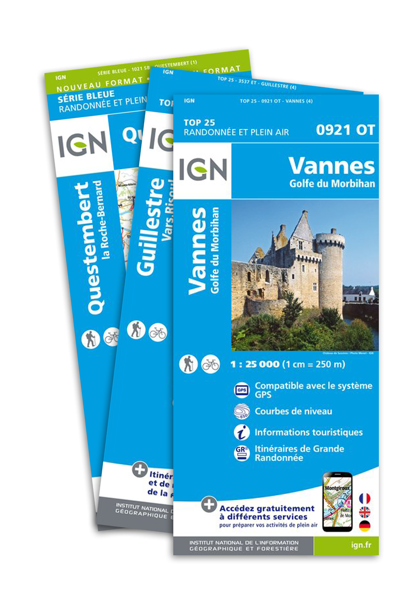 Pack Département : Gironde - Cartes IGN 1:25.000