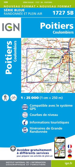 1727SB - Poitiers / Coulombiers - Recto