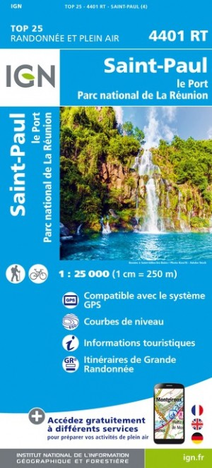 Saint-Paul-Le-Port - Île de la Reunion (Gps) (Carte)