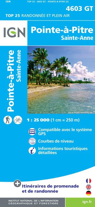 Pointe-A-Pitre/Sainte-Anne (Gps) (Carte)