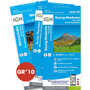 Pack : GR®10 - 1 couvertures