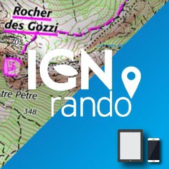 IGNrando' Application mobile Cartes IGN Liberté