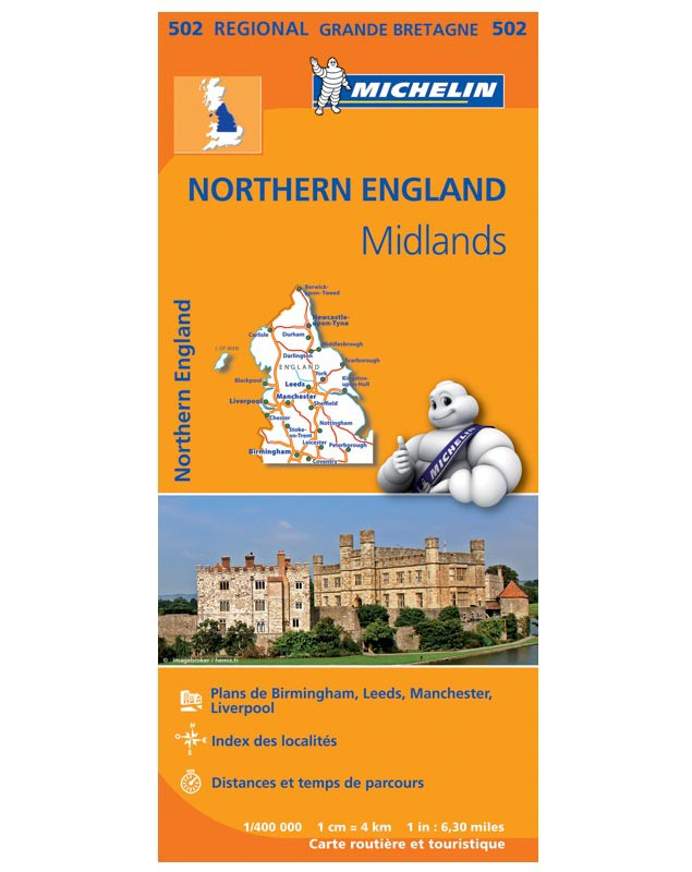Carte Michelin - Régionale Angleterre Nord / 2013