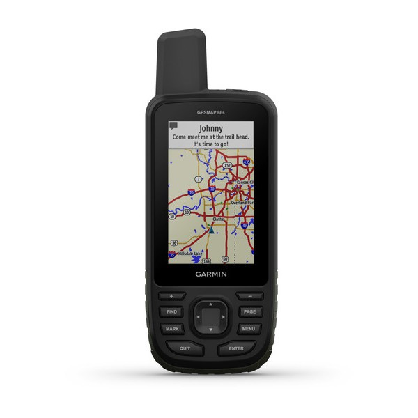 gps map 66s - recto