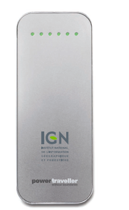Batterie Chargeur Portable Powermonkey Discovery - Logo IGN