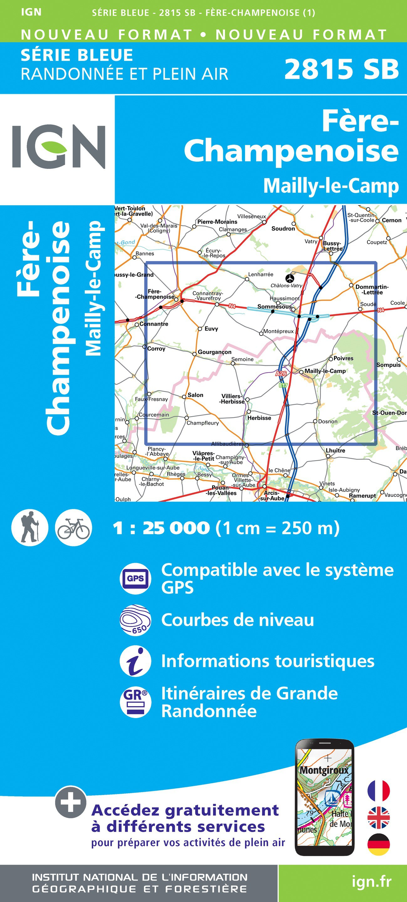 FERE-CHAMPENOISE - MAILLY-LE-CAMP