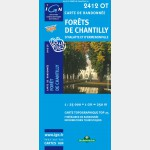 Top 25 IGN - Forêts de Chantilly - Recto