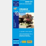 Orange/Massif d'Uchaux (Gps)