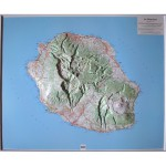 La Réunion - Carte en Relief 1