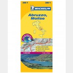 Carte Régionale Michelin - Abruzzes