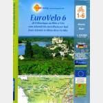 Carte MICHELIN - n°6 - EUROVELO (lot de 6 cartes sous blister)