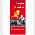 Carte Nationale Michelin - Pays-Bas