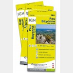 Pack : GR® GTJ de Cartes IGN 1:100.000