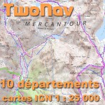 TwoNav Topo France 10 DEPARTEMENTS