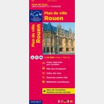 Plan de ville IGN - Rouen - Recto