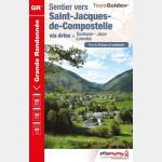 FFR - 6534 - Sentier vers Saint-Jacques-de-Compostelle : Toulouse - Jaca