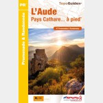 FFR - D011 L'AUDE PAYS CATHARE A PIED (Guide)