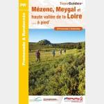 FFR P435 - MASSIF DU MEZENC, MEYGAL ET HAUTE VALLEE DE LA LOIRE A PIED (Guide)