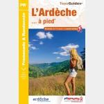 FFR D007 - L'ARDECHE A PIED (Guide)