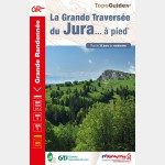FFR 512 -GRANDE TRAVERSEE DU JURA A PIED