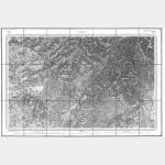 Carte de l'état-major  - Feuille 100 LURE - Taille Douce