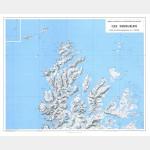 Îles Kerguelen Nord-Ouest (Carte)