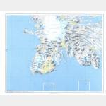 Îles Kerguelen Sud-Ouest (Carte)