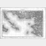Carte de l'état-major  - Feuille 103 QUIBERON (vendue avec la 102 BELLE ÎLE) - TD