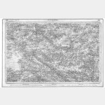 Carte de l'état-major  - Feuille 104 ST-NAZAIRE - Taille Douce