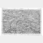Carte de l'état-major  - Feuille 105 ANCENIS - Taille Douce