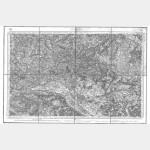 Carte de l'état-major  - Feuille 106 ANGERS - Taille Douce