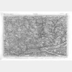 Carte de l'état-major  - Feuille 107 TOURS - Taille Douce