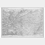 Carte de l'état-major  - Feuille 108 BLOIS - Taille Douce