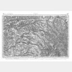 Carte de l'état-major  - Feuille 109 GIEN - Taille Douce