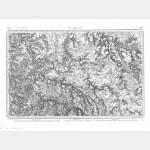 Carte de l'état-major  - Feuille 111 AVALLON - Taille Douce