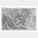 Carte de l'état-major  - Feuille 112 DIJON - Taille Douce