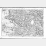 Carte de l'état-major  - Feuille 117 NANTES (vendue avec la 116 ÎLE du PILIER) - TD