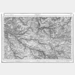 Carte de l'état-major  - Feuille 118 CHOLET - Taille Douce