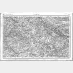 Carte de l'état-major  - Feuille 119 SAUMUR - Taille Douce