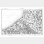 Carte de l'état-major  - Feuille 11 ABBEVILLE - Taille Douce