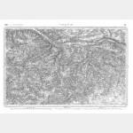 Carte de l'état-major  - Feuille 121 VALENCAY - Taille Douce