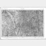 Carte de l'état-major  - Feuille 123 NEVERS - Taille Douce
