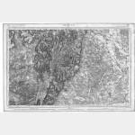 Carte de l'état-major  - Feuille 125 BEAUNE - Taille Douce