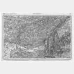 Carte de l'état-major  - Feuille 126 BESANCON - Taille Douce