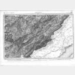 Carte de l'état-major  - Feuille 127 ORNANS - Taille Douce