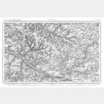 Carte de l'état-major  - Feuille 12 AMIENS - Taille Douce